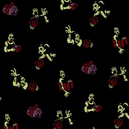 Zombie Wrapping Paper Set