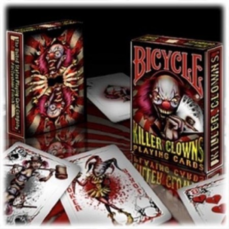 Killer Clowns Playing Cards