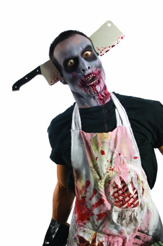 Zombie Shop Cleaver Through Head
