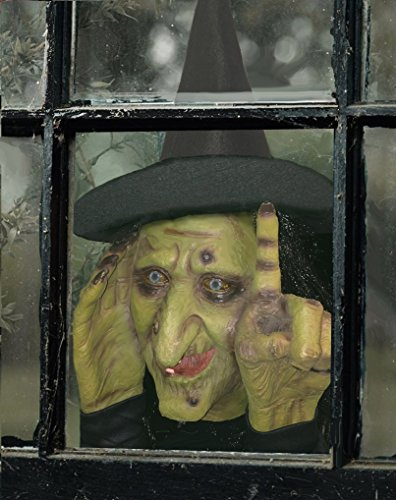 Tapping Witch Scary Peeper