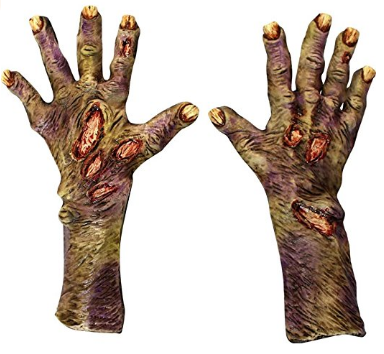 Zombie Rotted Gloves