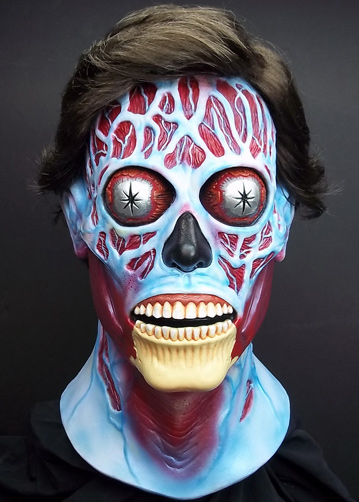 They Live Alien Latex Halloween Collectors Mask