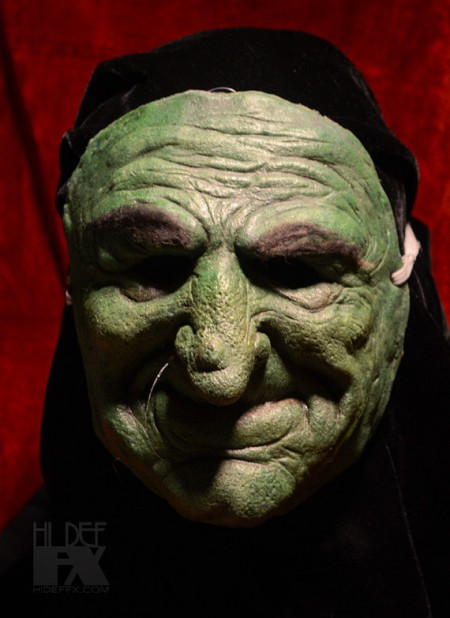 Vintage Style Witch Face Mask