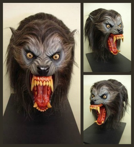 AMERICAN WEREWOLF HEAD Movie Prop