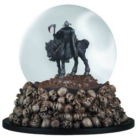 Frank Frazetta Death Dealer Snow Globe