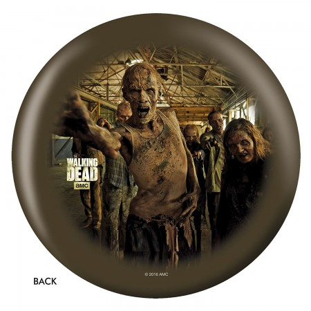 The Walking Dead Zombie Circle Bowling Ball