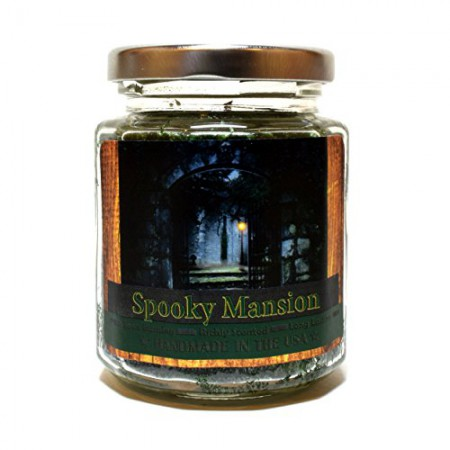 Spooky Mansion Wood Wick Candle