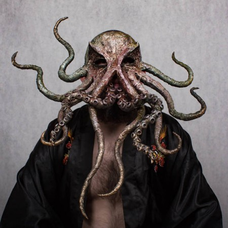 HP Lovecraft Inspired Halloween Cthulhu Mask
