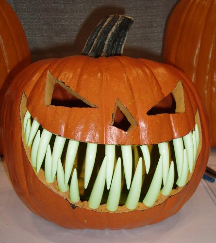 Pumpkin Teeth for your Jack O' Lantern