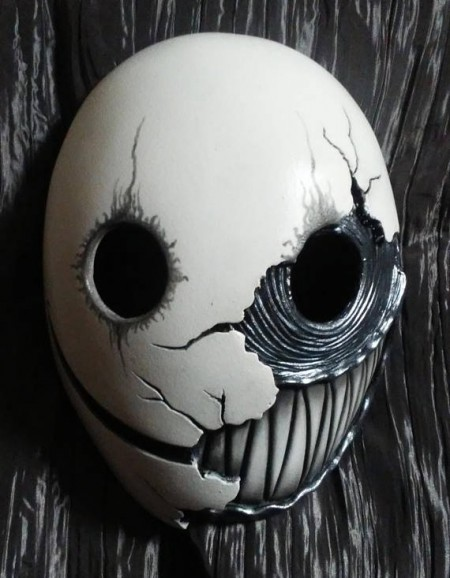 Smile Resin Cast Mask