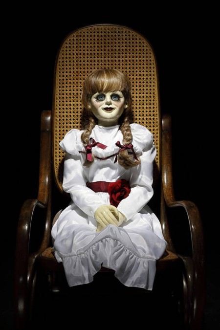 ANNABELLE CREATION Life Size Movie Prop Doll