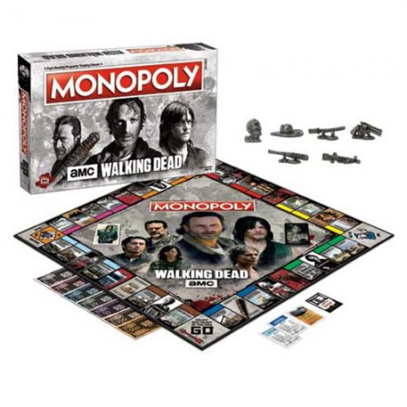 The Walking Dead TV Show Monopoly Game