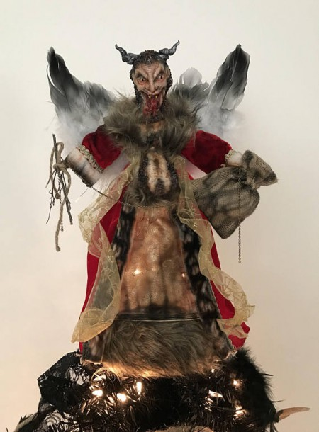 Krampus Christmas Tree Topper