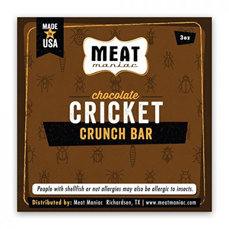 Chocolate Cricket Crunch Bar