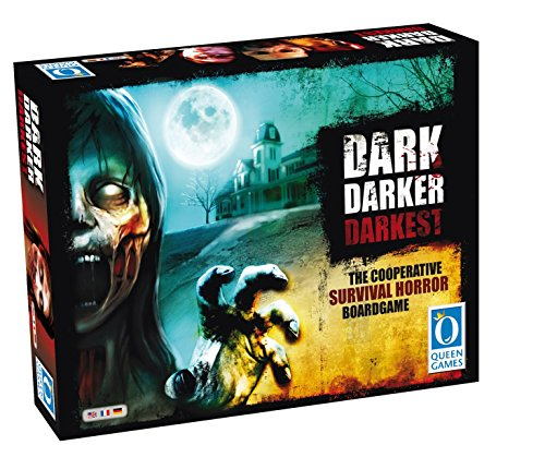 Dark Darker Darkest Survival Horror Board Game