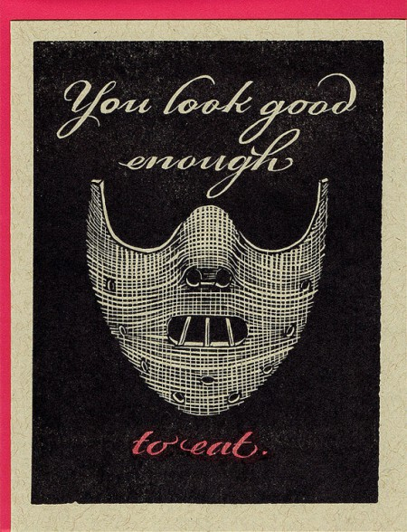 Creepy Valentine's Day Card