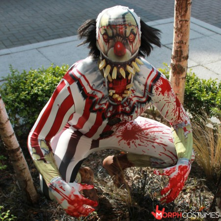 Jaw Dropper Clown Costume