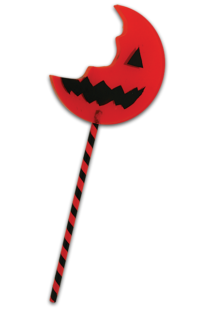 TRICK R TREAT SAM BITTEN LOLLIPOP