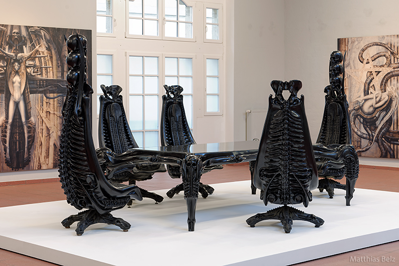 H.R. Giger's (Regular) Harkonnen Chair