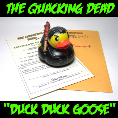 The Quacking Dead Negan Inspired Duck