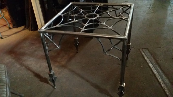 Spider Web End Table