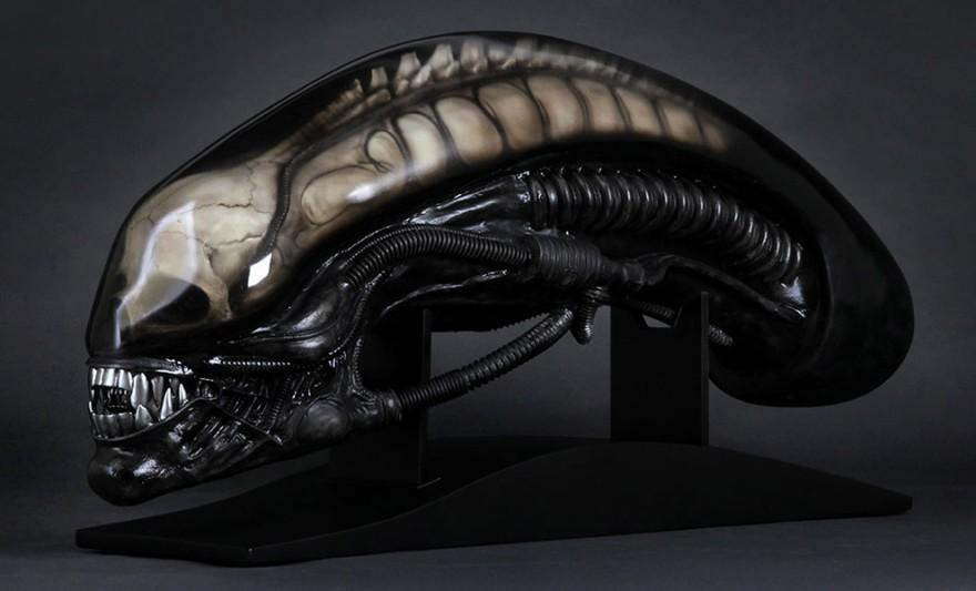 Giger's Alien Life-Size Head
