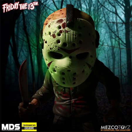 Jason Voorhees Glow-in-the-Dark Mask Stylized Action Figure