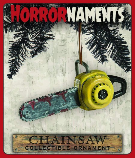 Bloody Chainsaw Ornament