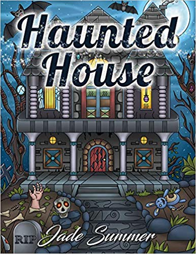 Haunted House: An Adult Coloring Book