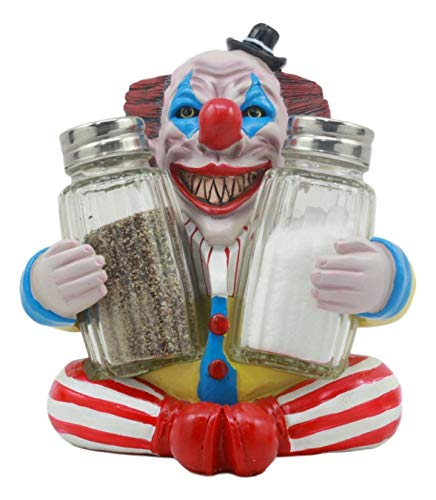 Pennywise Clown Salt and Pepper Shaker