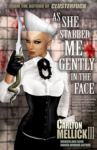 As She Stabbed Me Gently in the Face  by Carlton Mellick
