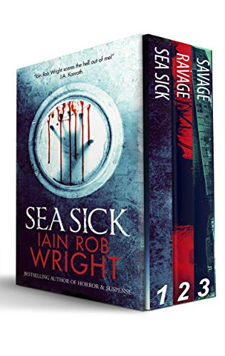 Ravaged World Trilogy (Sea Sick, Ravage, & Savage)  by Iain Rob Wright