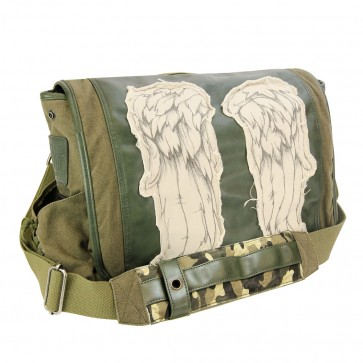 Daryl Dixon Wings Fatigue Green Mini Messenger Bag