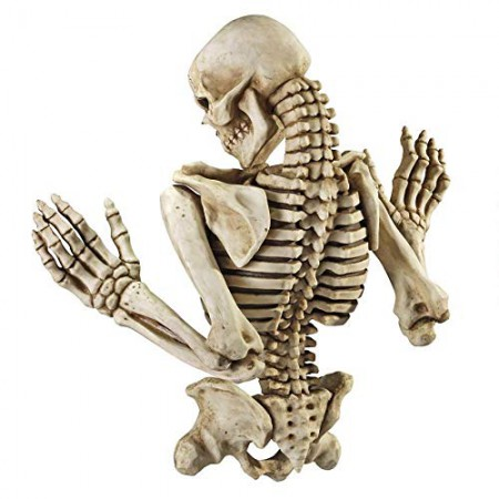 Climbing Skeleton Wall Sculpture