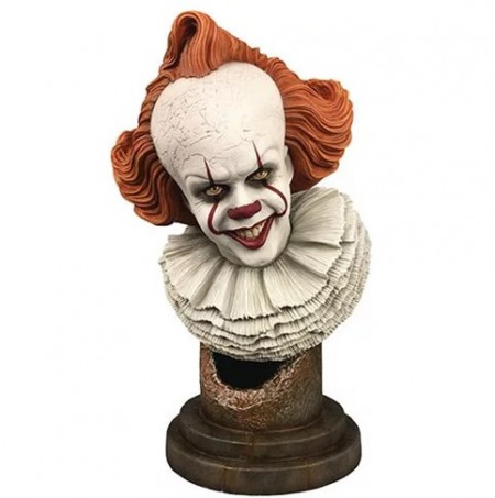 It Chapter Two Legends in 3D Pennywise 1:2 Scale Bust