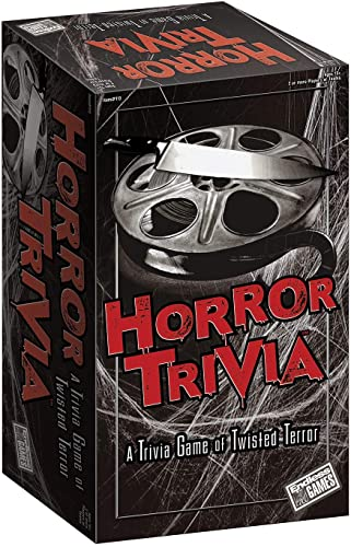 Horror Trivia Card Game