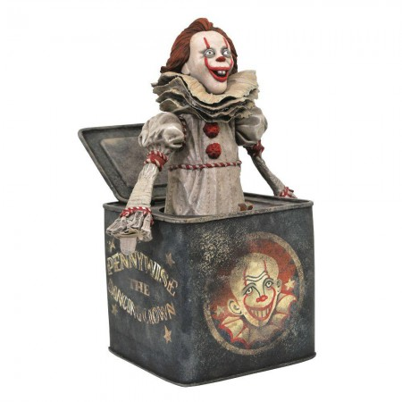 It Chapter Two Gallery Pennywise in the Box Statue