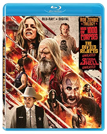 ROB ZOMBIE TRIPLE FEATURE UNRATED