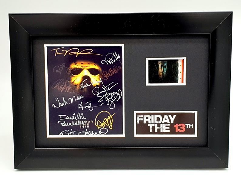 Friday The 13th Framed Film Cell Display