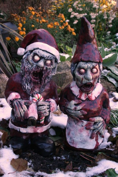 Mr. and Mrs. Santa Corpse