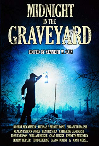 Midnight in the Graveyard by Elizabeth Massie